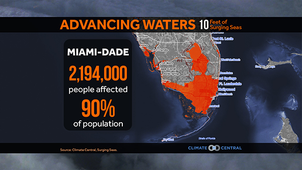 Flooding Map Florida.Florida S Climate Threats States At Risk