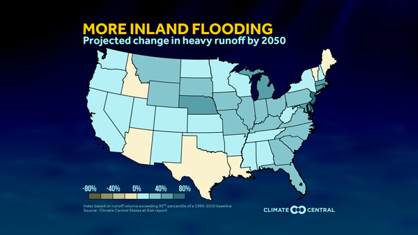 Texas\' Climate Threats   States at Risk